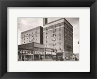 Framed O. Henry Hotel, Greensboro, Guilford County, NC