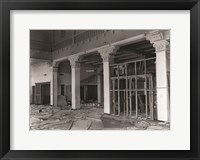 Framed First Floor of Greensboro Motor Company Guilford County, NC