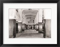 Framed First Floor Main Lobby O. Henry Hotel Greensboro NC 1978