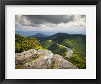 Framed Blue Ridge Parkway Craggy Gardens Scenic Mountains Asheville NC