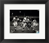 Framed Gale Sayers 1965 Action
