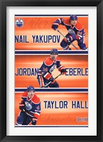 Framed Edmonton Oilers® - Trio 13