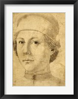 Framed Portrait of a Young Man