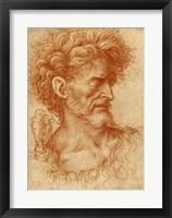 Framed Saint John the Baptist