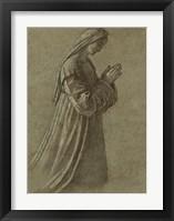 Framed Study of the Virgin