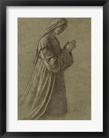 Framed Study of the Virgin