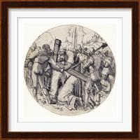 Framed Christ Carrying the Cross