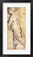 Framed Study for the Figure of the Infant Saint John the Baptist
