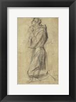Framed Study of Saint Francis