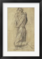 Framed Study of Saint Francis