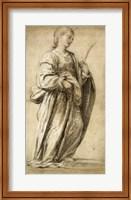 Framed Saint Lucy