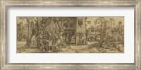 Framed Esther before Ahasuerus
