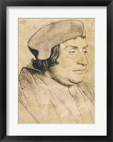 Framed Portrait of a Scholar or Cleric