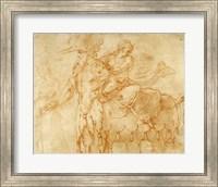 Framed Centaur and Lapith