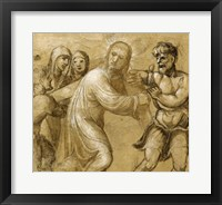 Framed Christ Carrying the Cross