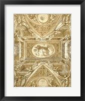 Framed Study for a Ceiling