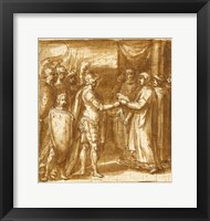 Framed Scene from the History of the Farnese Family