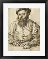 Framed Portrait of a Bearded Man