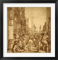 Framed Submission of the Emperor Frederick Barbarossa to Pope Alexander III
