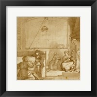 Framed Taddeo in the House of Giovanni Piero Calabrese