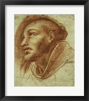 Framed Study of a Franciscan Monk