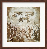 Framed Triumph of the Cross