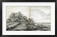 Framed Landscape with Haymakers