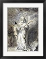 Framed Messenger of God Appearing to Joshua