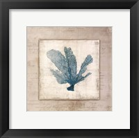Framed Chambray Coral I - Mini