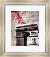 Framed Paris in Bloom II - Mini