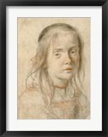 Framed Portrait of a Girl