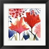 Framed Wild Flowers I-Mini
