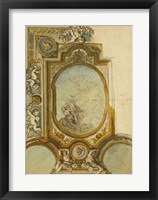 Framed Studies for a Ceiling Decoration