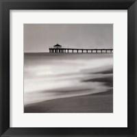 Framed Manhatten Pier - Mini