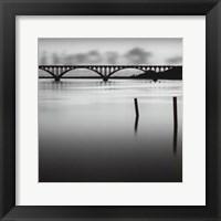 Framed Bridge Reflection - Mini