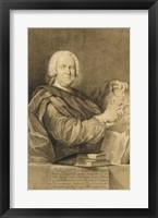 Framed Portrait of Cavaliere Francesco Maria Niccolo Gabburri