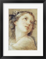 Framed Head of a Bacchante