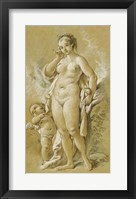 Framed Venus and Cupid
