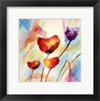 Framed Tilt Tulips I