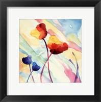 Framed Tilt Tulips II