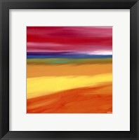Framed Prairie Abstract 1