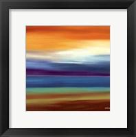 Framed Prairie Abstract 3