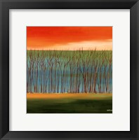 Framed Prairie Abstract 5