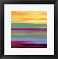 Framed Prairie Abstract 6