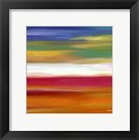 Framed Prairie Abstract 7
