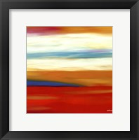 Framed Prairie Abstract 9