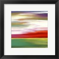 Framed Prairie Abstract 11