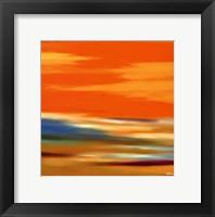 Framed Prairie Abstract 12