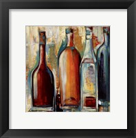 Framed Wine I