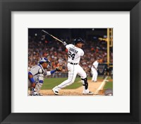 Framed Miguel Cabrera 2013 Action